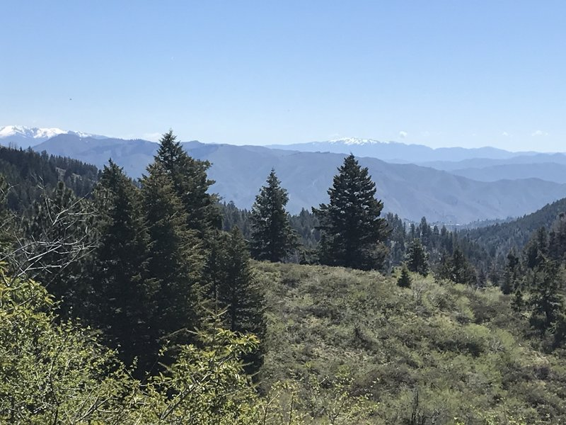 Soak in great views in all directions from the ridge.
