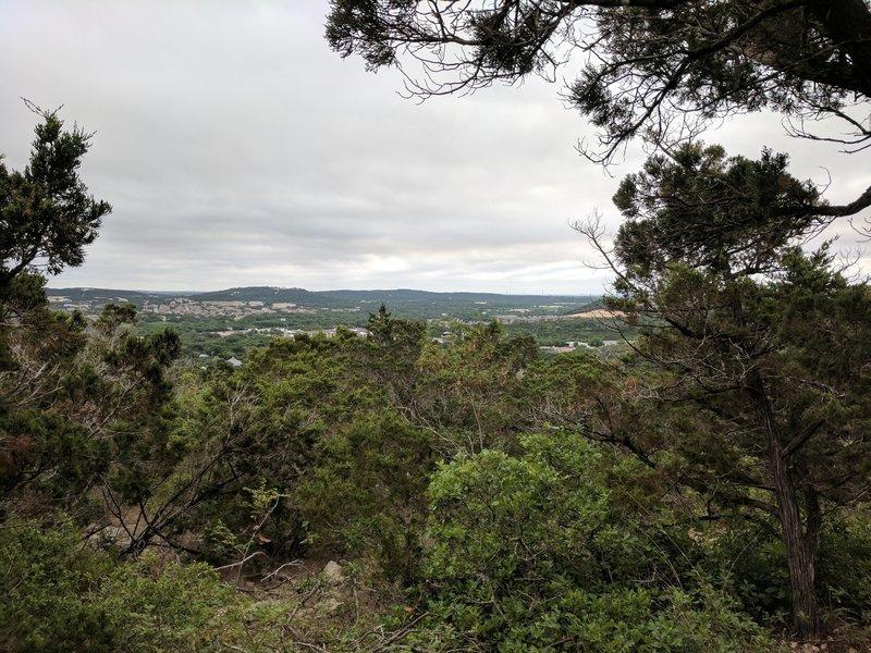 Enjoy pleasant views from atop the hills in Friedrich Wilderness Park.