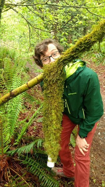 The moss is pretty impressive!