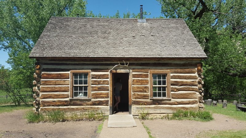 Roosevelt's Maltese Cross Cabin is a must-see in his namesake national park.