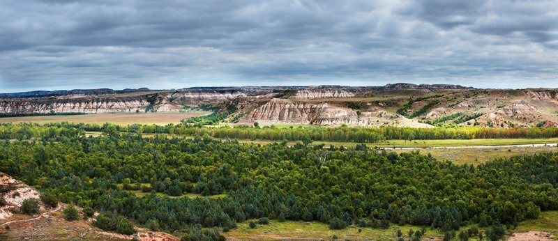 Elkhorn Ranch is a must-see in Theodore Roosevelt National Park. Photo credit: NPS/Laura Thomas.
