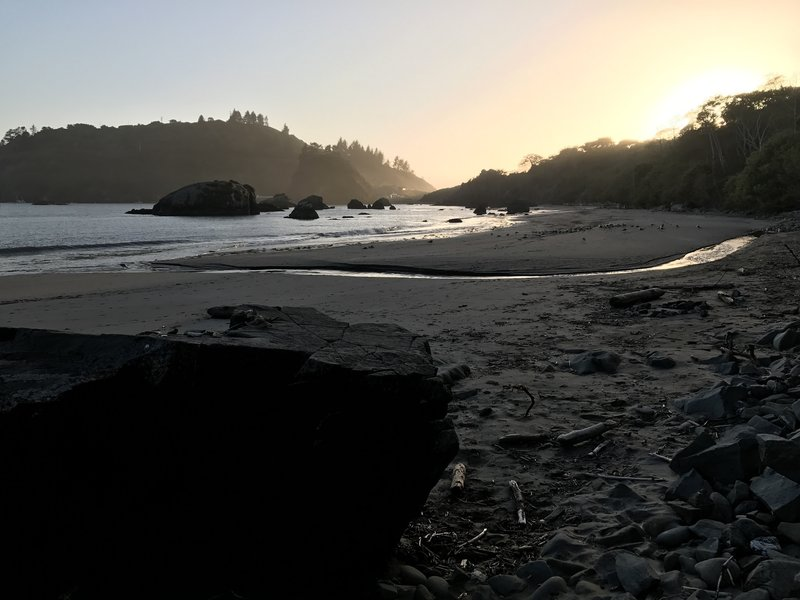 Old Home Beach in Trinidad.