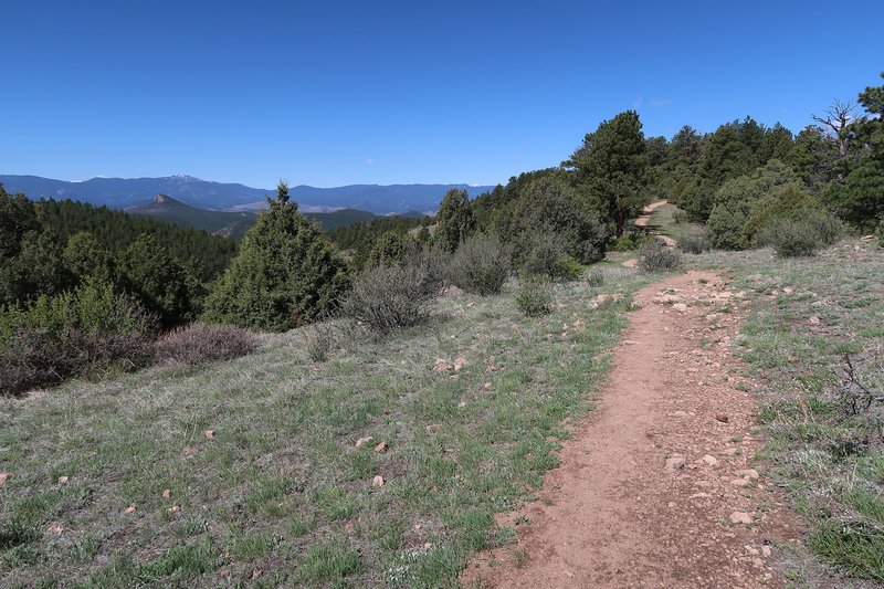 Eagle's View Trail offers beautiful Front Range views.