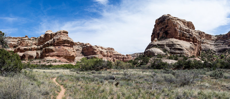 Soak up the panoramic views of Bullet Canyon while you're here.