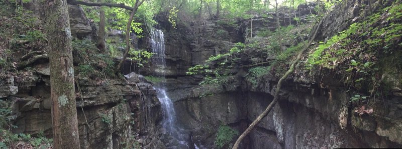 The Lost Sinks Waterfall is quite the sight!