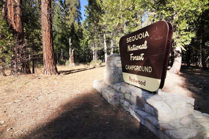 Sequoia National Park's Redwood Meadow Campground is quite nice!