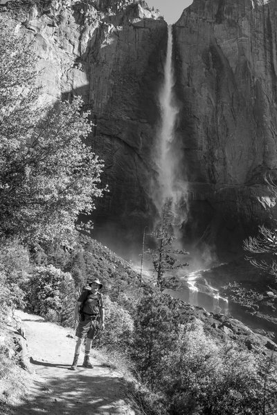 Upper Yosemite Falls is a must-see in the summer.