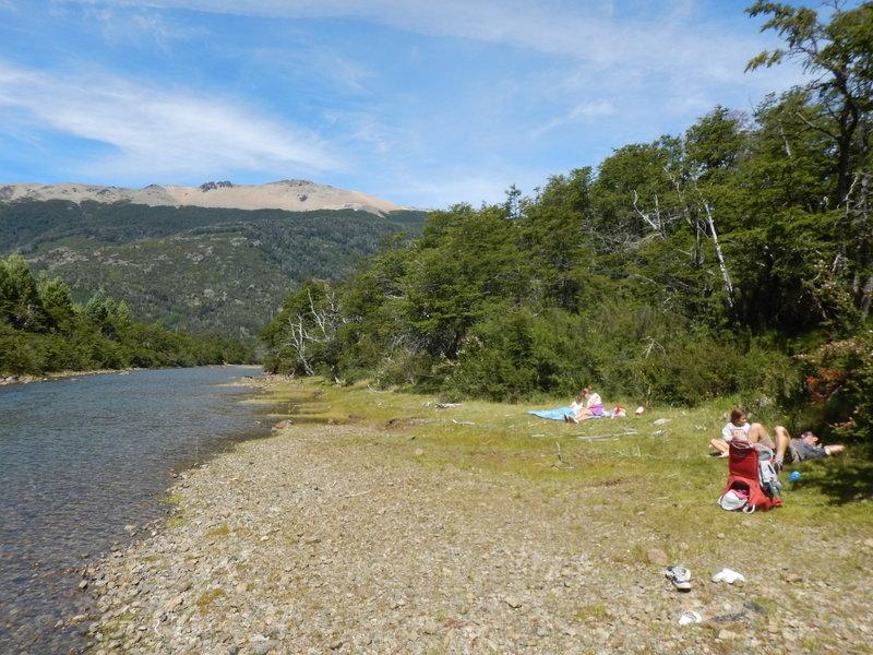 Make sure you take more than 5 minutes to enjoy the river bank!