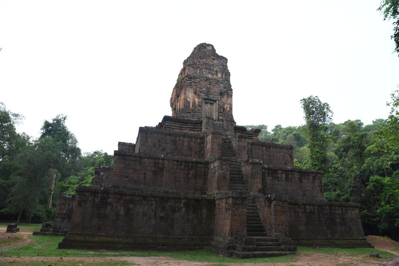Back side of Baksei Chamkrong Temple.
