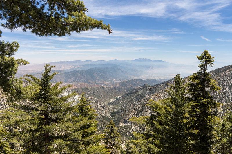 Looking east towards Butler Peak.