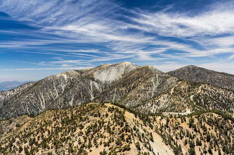 Mount Baldy from Telegraph Peak.