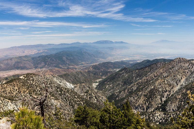 Butler Peak from Telegraph Peak.