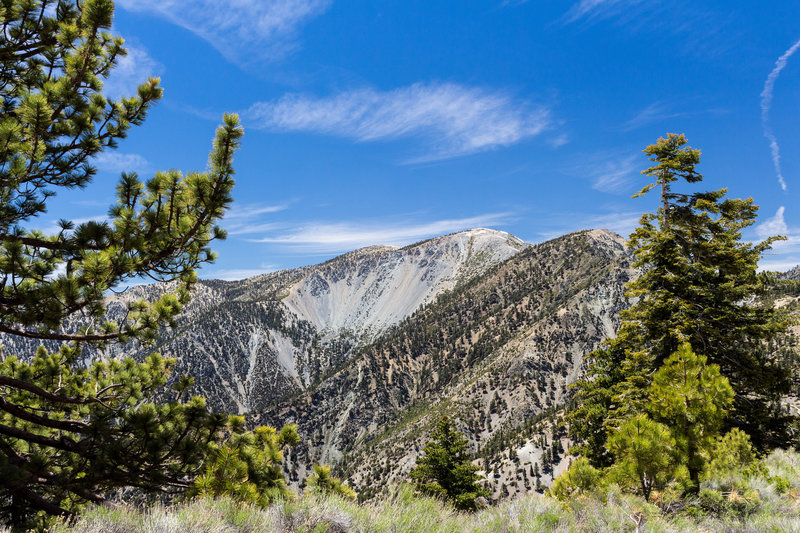Mt Baldy and the Baldy Bowl