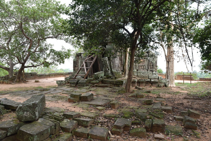 The ruins of Chrung Temple.