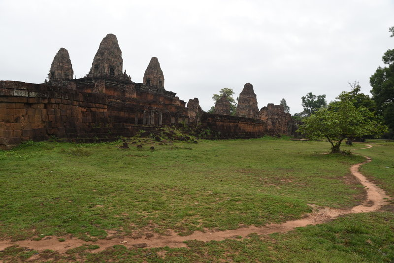 Looking back at the southeast corner of Pre Rup.