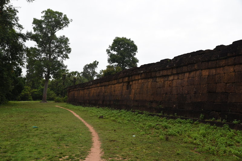 The back wall of Pre Rup.