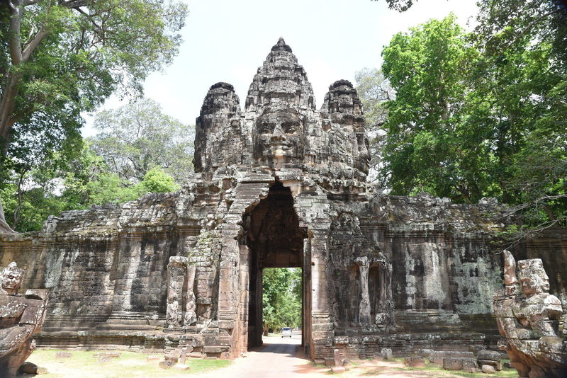 Victory Gate, looking west.