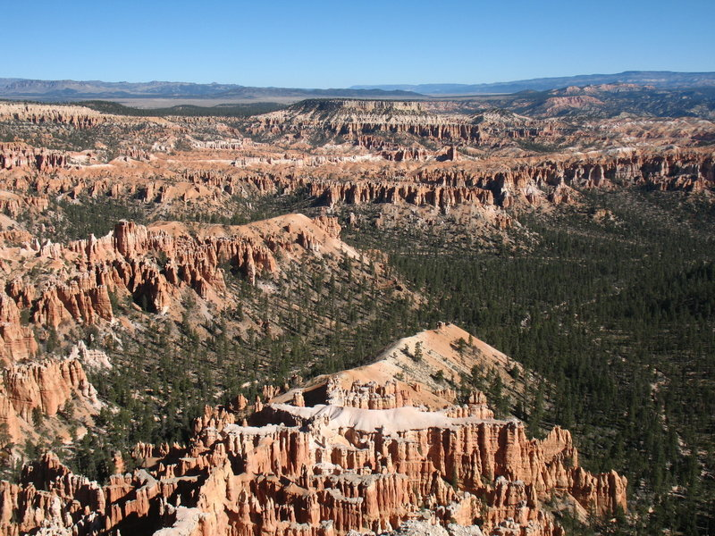 Bryce Canyon, seen from near the Paria Viewpoint.
