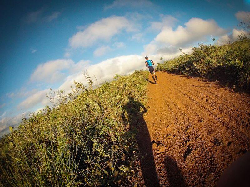It's a dirt road to the Mirante das Estrelas.