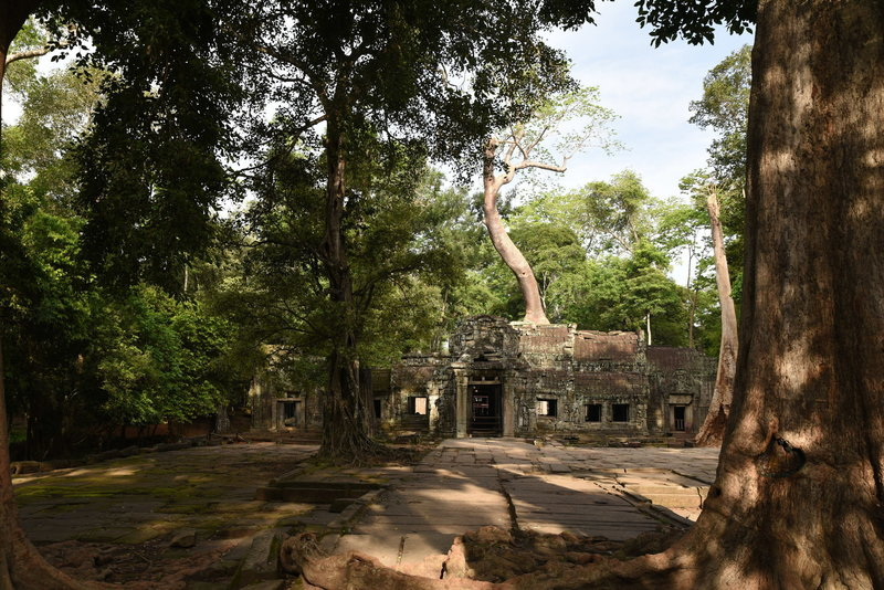 East gate of Ta Prohm.