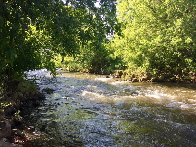 Willow River is also a popular spot for anglers.