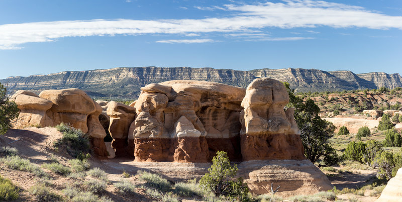 Explore the amazing sandstone formations of Devils Garden.
