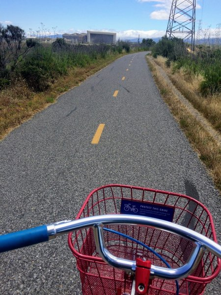 Stevens Creek trail pavement