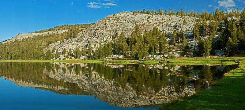 Morning Reflections off Fleming Lake