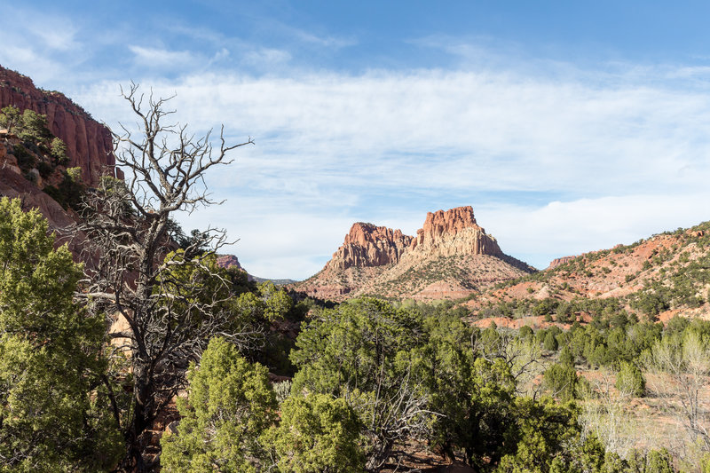 The Gulch towards the edge of Grand Staircase-Escalante National Monument.