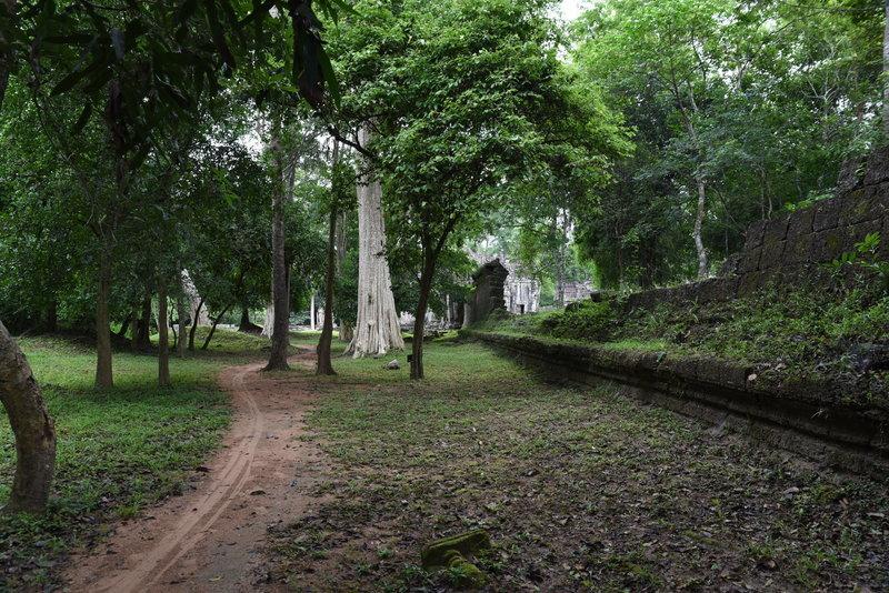 The southeast corner of the Preah Khan Trail.
