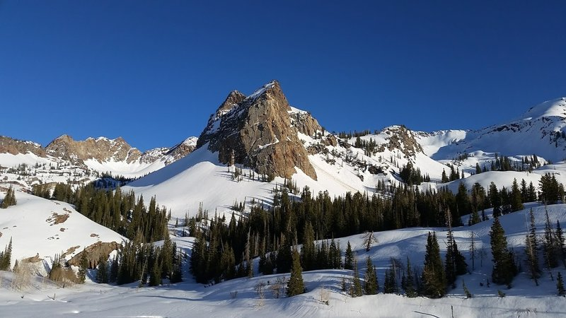 Lake Blanche in late spring.