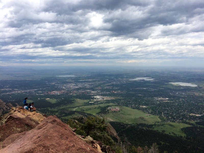 Hello down there Boulder!