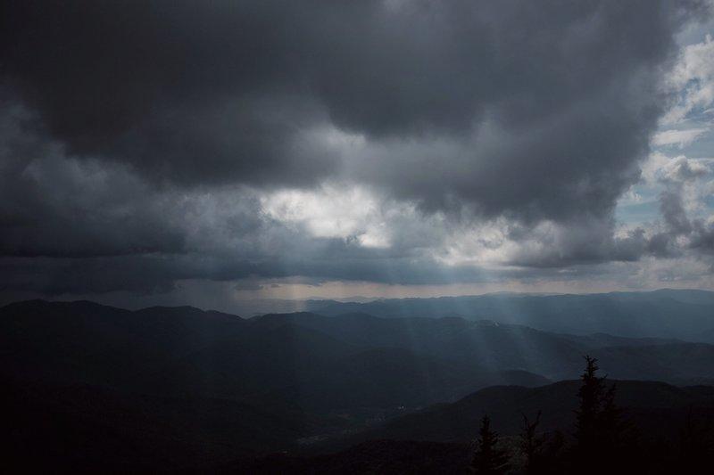 Enjoy phenomenal views on the way up to Mt. Mitchell.