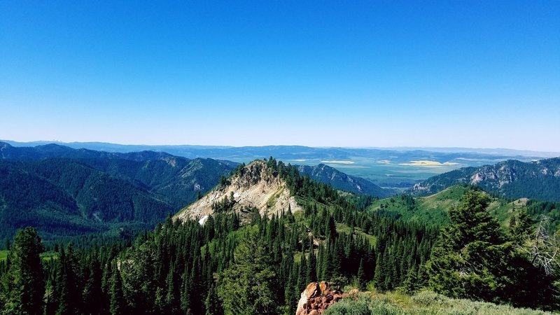 This is another view from the top of Red Butte – You won't have a bad one no matter which direction you look.