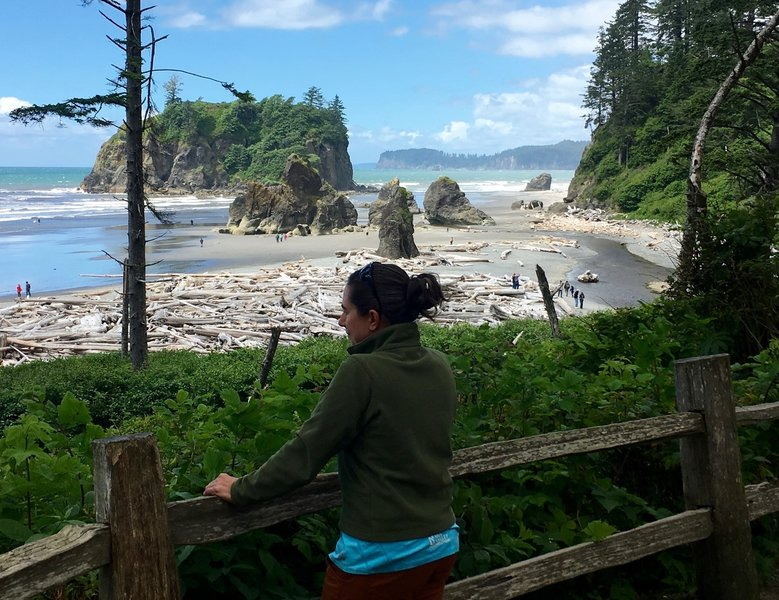 Ruby Beach Overlook