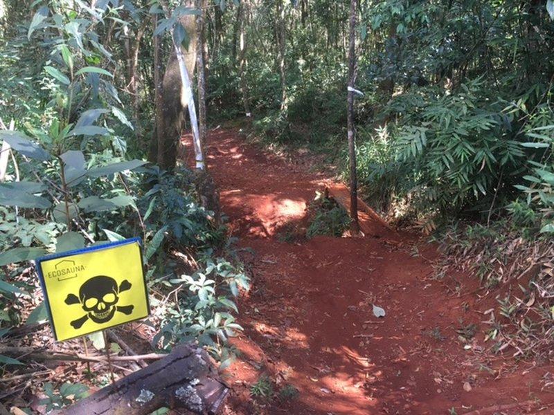Matinha downhill.