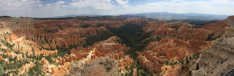 The view from Bryce Point is like nothing else in this world.