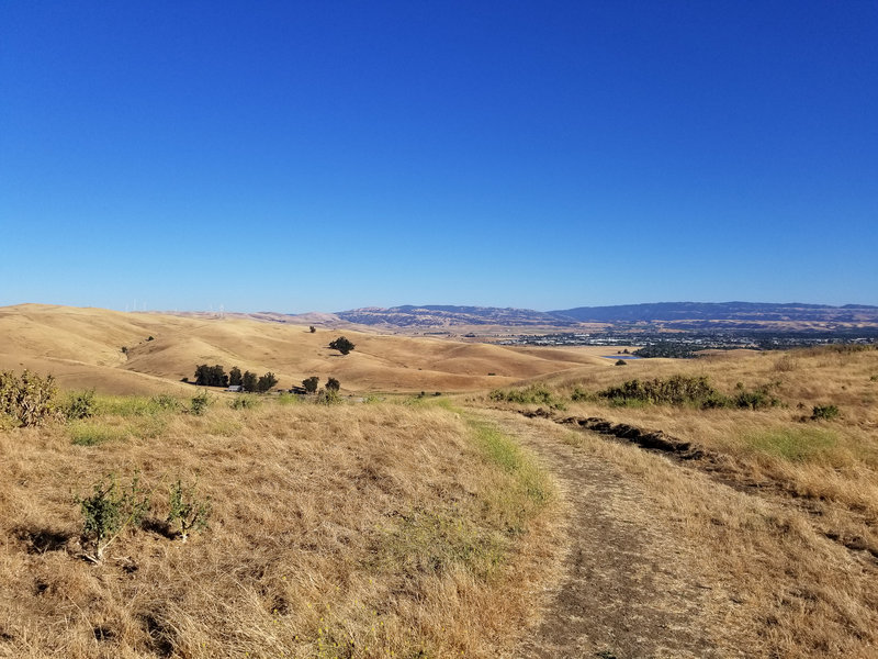 Laughlin Ranch and Livermore are quite beautiful from the West Side Loop Trail