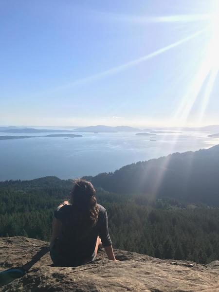 Oyster Dome offers a beautiful water view.