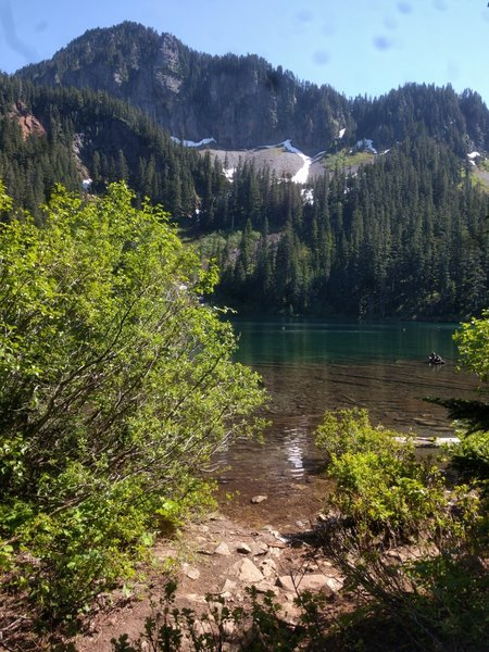Annette Lake is gorgeous in the summertime!
