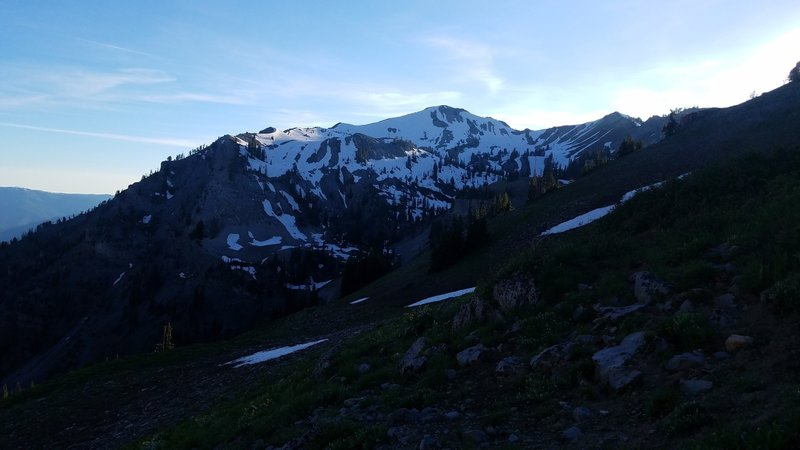 This is a look at the east side of Sheep Creek Peak.