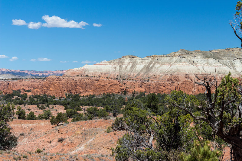 An amazing set of colors looks even better on a sunny day in Kodachrome Basin State Park.