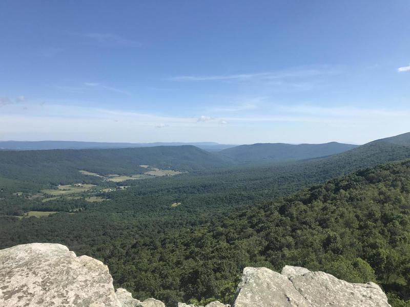 Big Schloss Peak offers an incredible view!