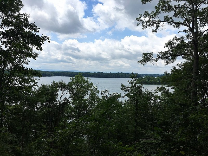 Enjoy this view from the Lost Creek Overlook at Tims Ford State Park.