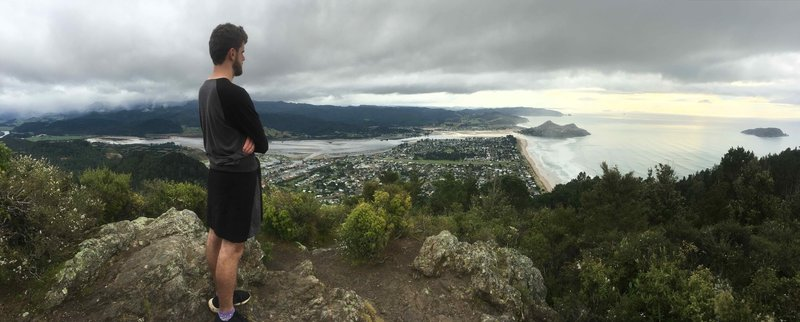 Revel in the view from the top looking over Pauanui and across to Tairua.