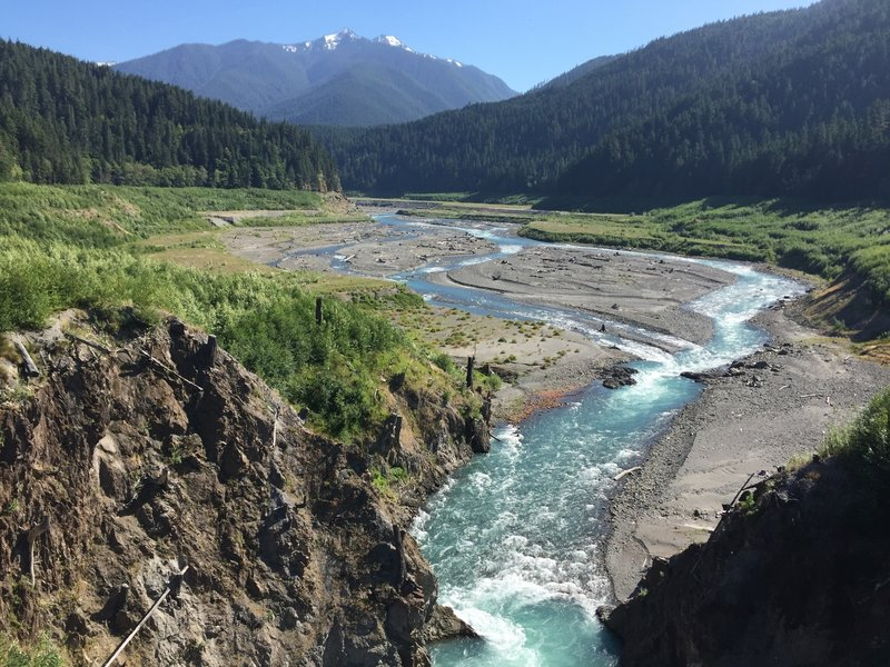 With the removal of the Glines Canyon Dam, the Elwha and her native salmon can finally run free.
