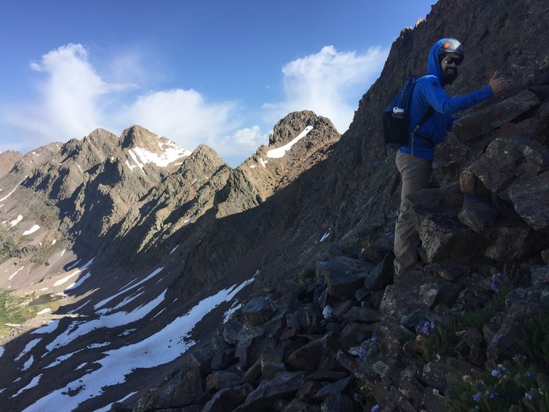 Peaks and wildflowers – What else do you need?