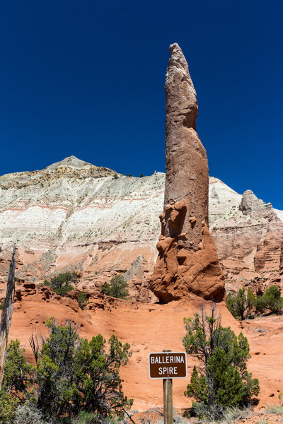 Ballerina Spire is an impressive feat of erosion.