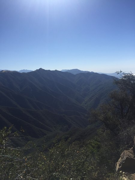 Enjoy a phenomenal view from the summit of Montecito Peak.