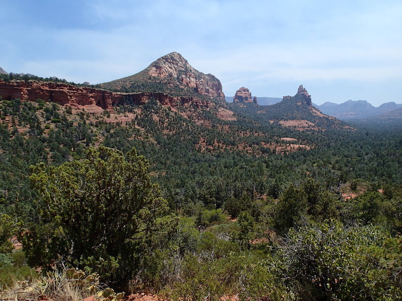 Enjoy this view looking southeast from the Soldier Pass Trail.
